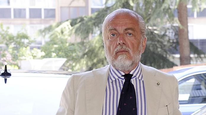 leandrinho de laurentiis napoli ufficiale lavezzi