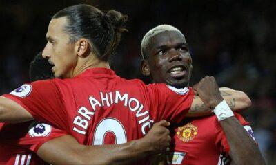 ibrahimovic pogba manchester united