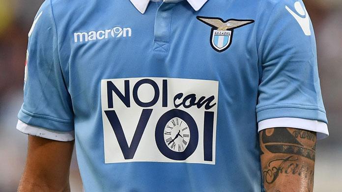 completo calcio Lazio portiere