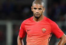 infortunio bruno peres roma