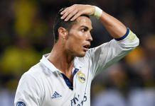 cristiano ronaldo real madrid pallone d'oro infortunio