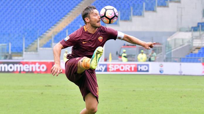 Totti crazy for football