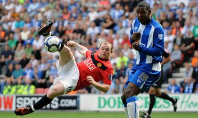 rooney wigan-manchester united