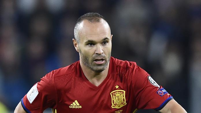 Iniesta Spagna