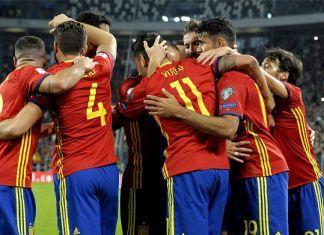 russia 2018 Spagna
