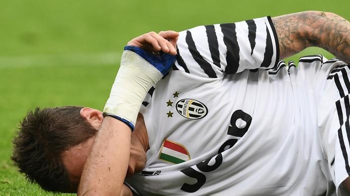 Mandzukic ko, ancora in dubbio per Juventus-Lazio: forte trauma contusivo