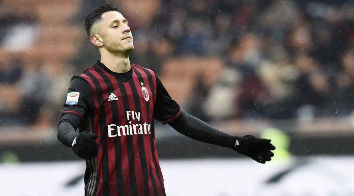 Milan, l'ex Lapadula: «La maglia rossonera è un grosso peso»