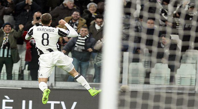 Marchisio: «Gol all'Inter? Avrei voluto essere sugli spalti