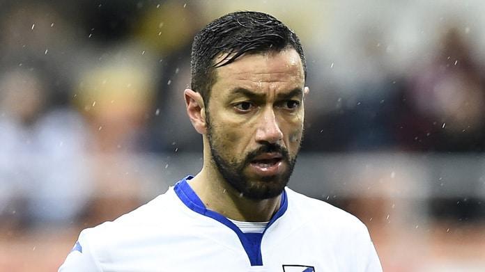 Fabio Quagliarella in lacrime: