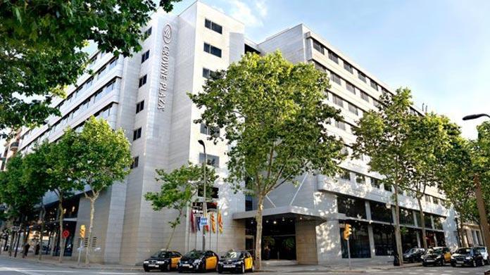 crowne plaza hotel barcellona-juventus