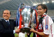 berlusconi inzaghi milan champions league