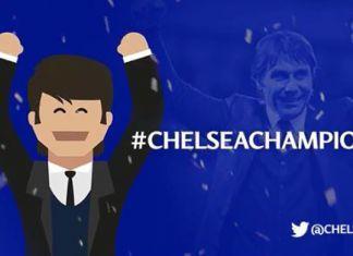conte chelsea emoji #chelseachampions