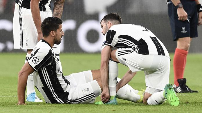 Infortunio Khedira, UFFICIALE: il comunicato della Juventus