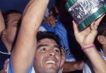 maradona napoli coppa uefa
