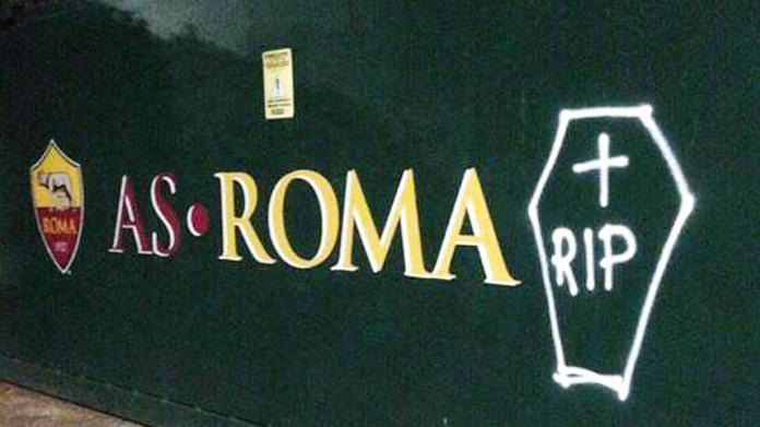 roma-lazio derby funerale trigoria
