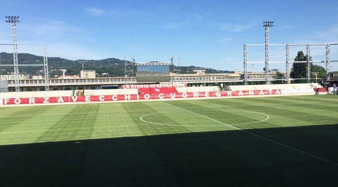 Torino, il messaggio dei bambini della Scuola Calcio: #andra