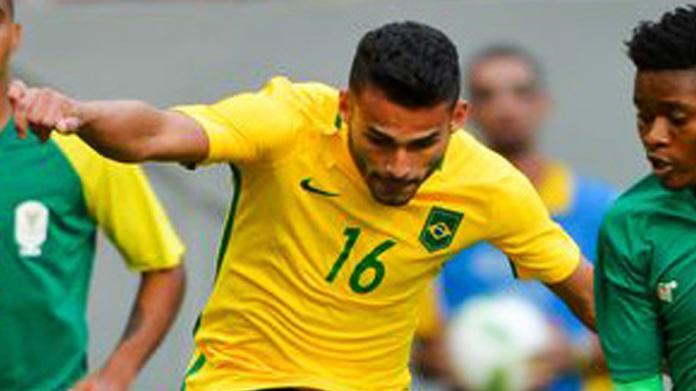 Gabigol apre a Thiago Maia: