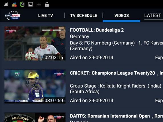 Eurosport streaming