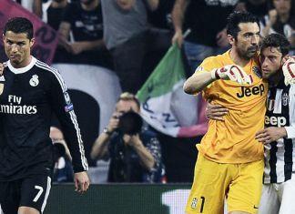 ronaldo buffon marchisio juventus-real madrid