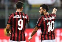 Shkendija-Milan europa league andre silva calhanoglu