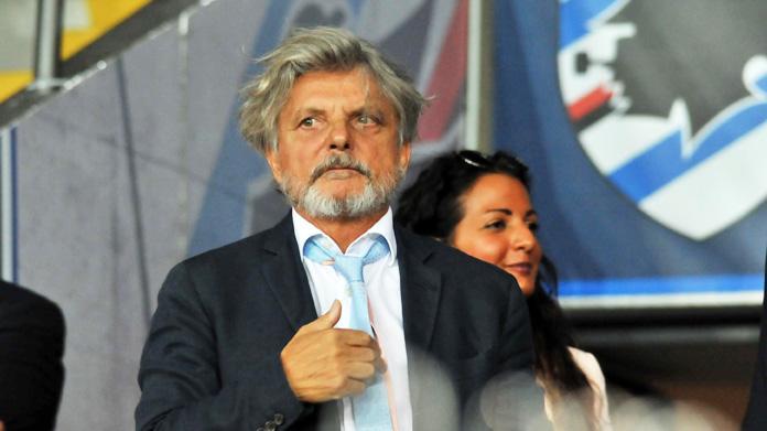 Massimo Ferrero, Sampdoria