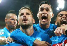 nizza-napoli champions league