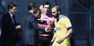 Higuain in panchina col Torino: ecco perché