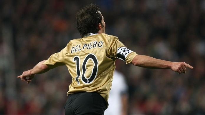 del piero juventus-real madrid