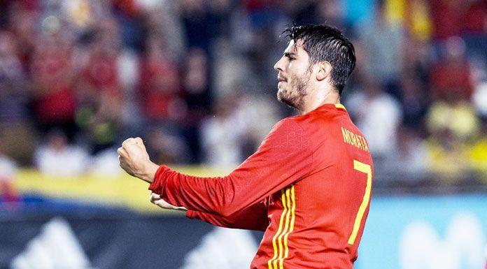 Juve |  Morata è atterrato a Torino