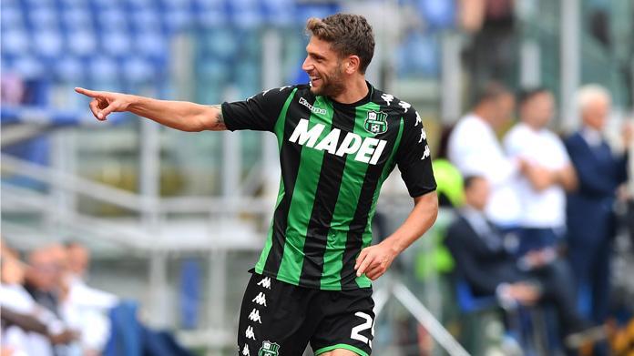 Sassuolo, l'allenatore Bucchi conferma Berardi come rigorista