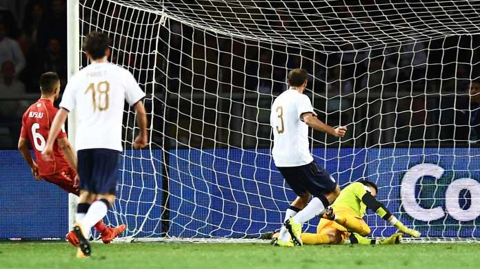 Italia batte l'Albania, Insigne: