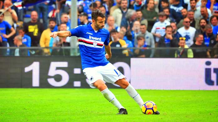 completo calcio Sampdoria nazionali