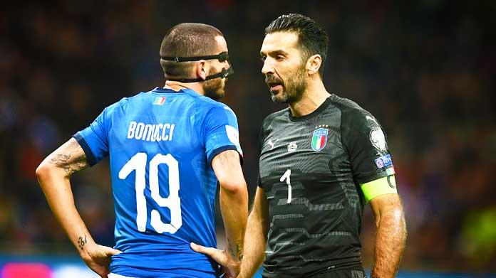 bonucci buffon italia