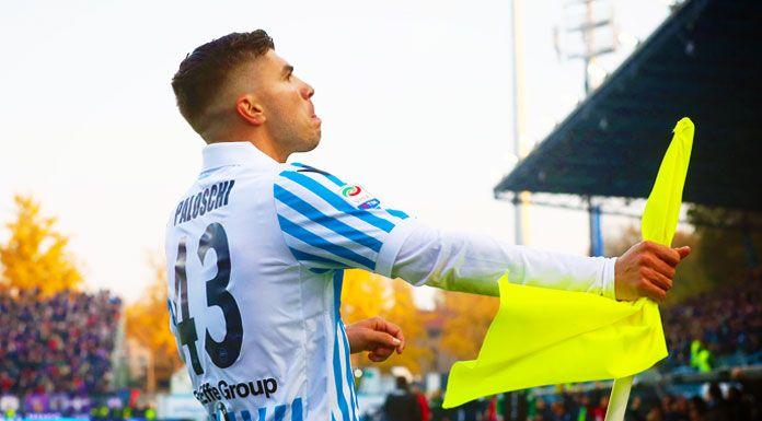 Spal, Paloschi: «Felice per il gol. Domenica scontro importantissimo»