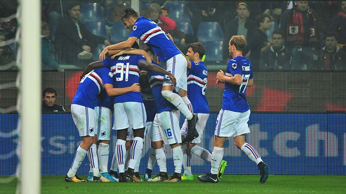 sampdoria coppa italia