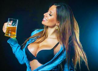 thays povoa inter milan modella hostess san siro