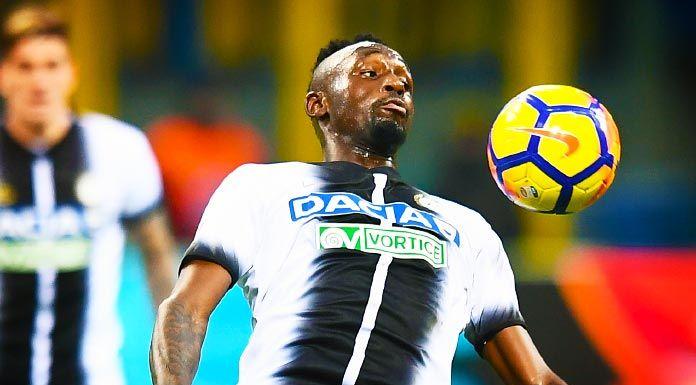 Udinese, Fofana: «Dobbiamo crederci sempre. Non sono preoccupato»