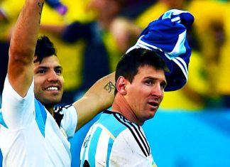 aguero messi argentina