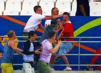 hooligans inghilterra-russia