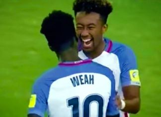 timothy weah usa