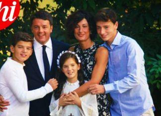 famiglia matteo renzi figlio francesco