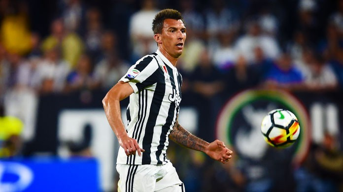 Juventus,Mandzukic in dubbio per Bologna