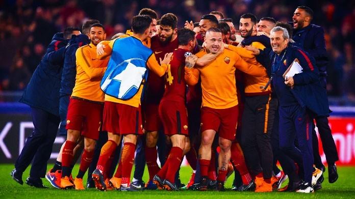 Roma-Barcellona, Dzeko: