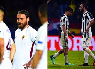 roma juventus champions league