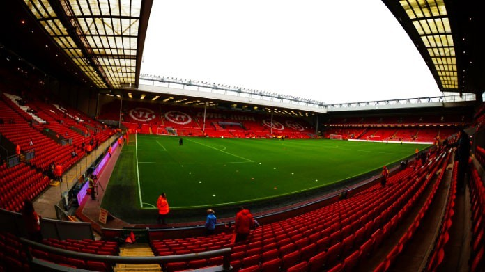stadio anfield road liverpool