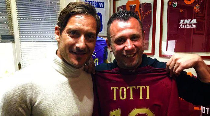 Totti: «Cassano alla Roma? Massacrava tutti»
