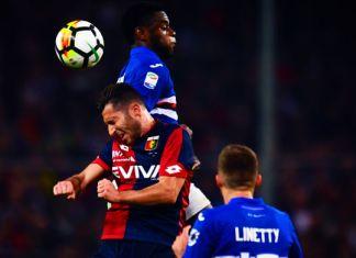 zapata bertolacci linetty derby sampdoria-genoa
