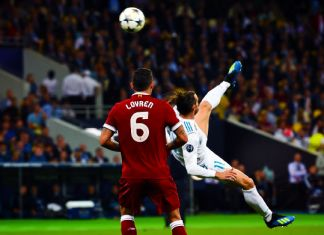 bale gol rovesciana real madrid-liverpool finale champions league 2018
