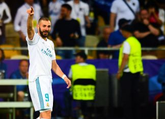 benzema real madrid finale champions league 2018