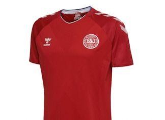Maglia Danimarca Mondiali 2018